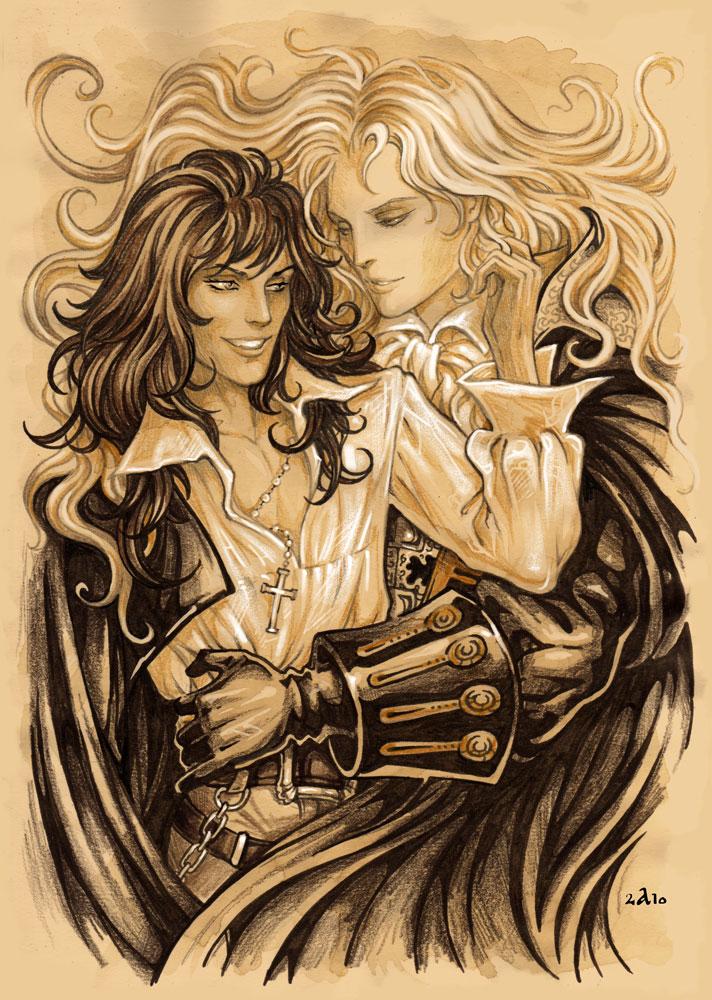 Alucard Adrian Fahrenheit Tepes Dracula of Castlevania Under_10