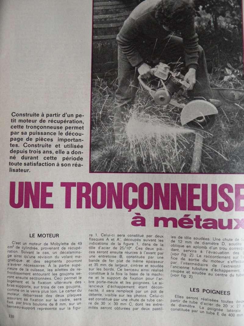 tronçonneuse - tronçonneuse métal/mobylette Sam_3914
