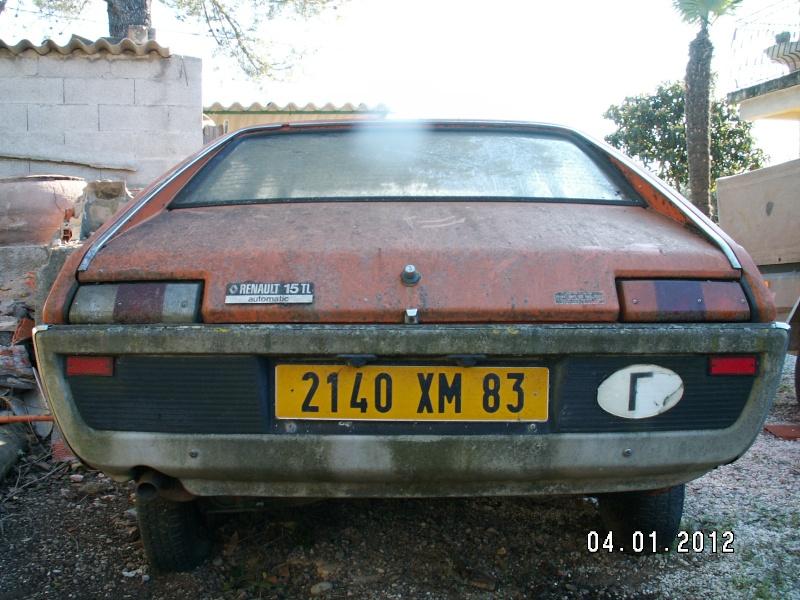 RENAULT 15 TL AUTOMATIQUE DE 1975 Pict1847