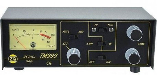 Zetagi TM999 (Tos mètre/Watt Mètre/Matcher) 2387-l10