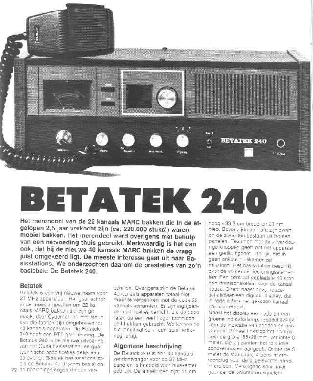 Betatek 240 (Base) Betate16