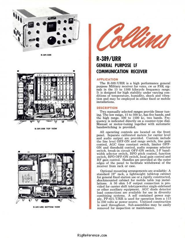 Collins R-389/URR (Military) Collin11