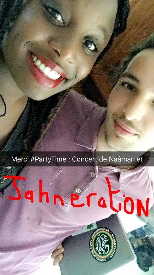 #JahSmile : En direction du Concert de #Nâaman et #Jahneration, remercie l'émission #PartyTime ( #CTMCommunication #PartyTime #Nâaman #Jahneration  #Concert #Paris #France) Partyt10