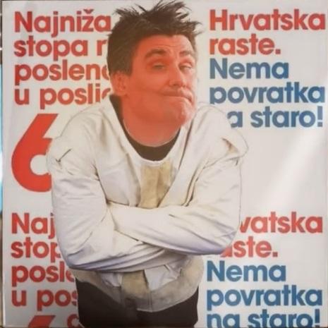 Pogledajte: Normalno, ovo su Milanovićevi plakati Zlo_as10