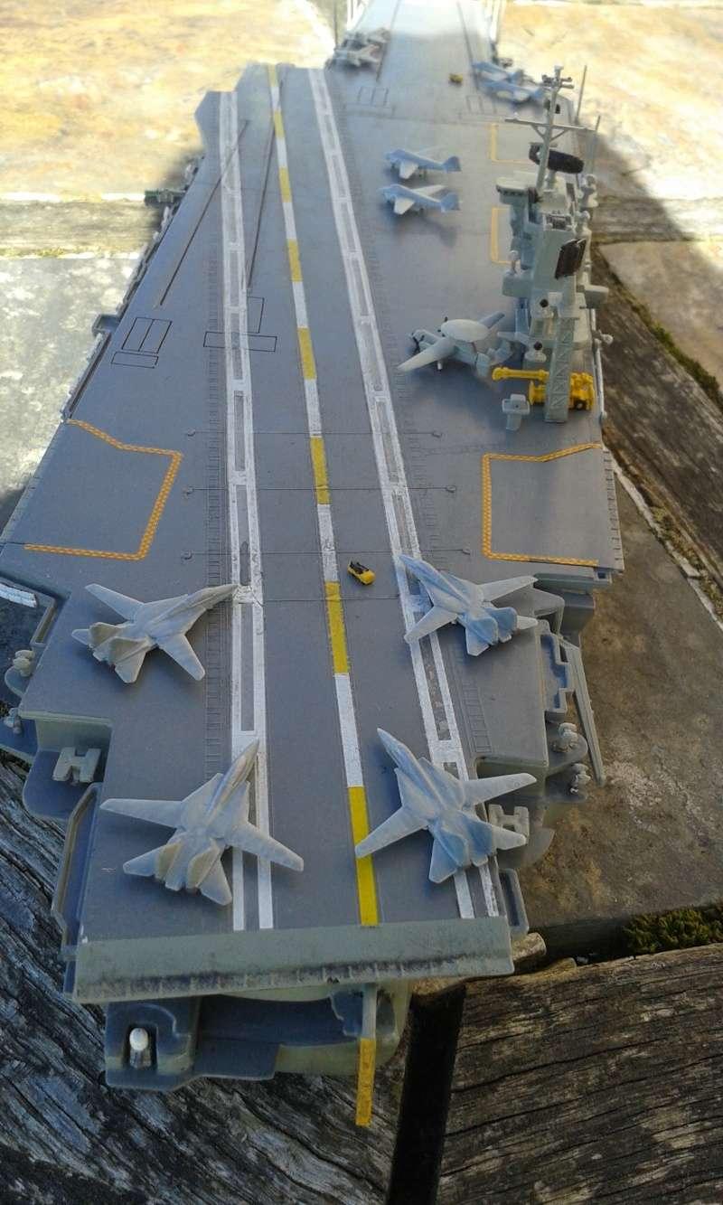"""Don't Tread On Me"" - USS America CVA/CV-66 (Italeri 1/720) - Page 3 20160439"