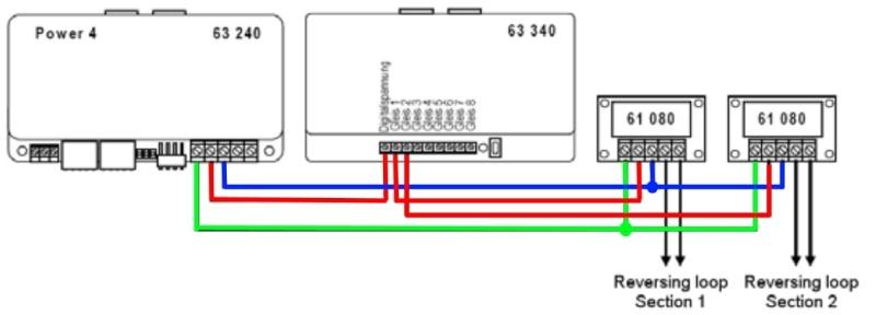 Uhlenbrock et Boucle de Retournement Loop210