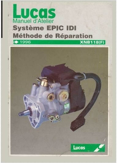 Pompe Epic réparation  Ca10