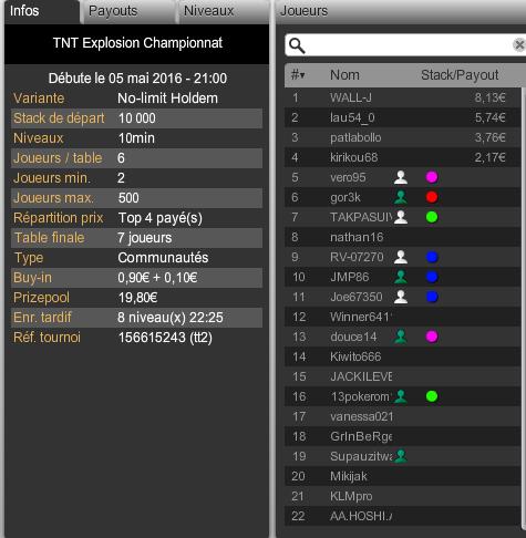 Championnat sur WINAMAX à venir Captur14