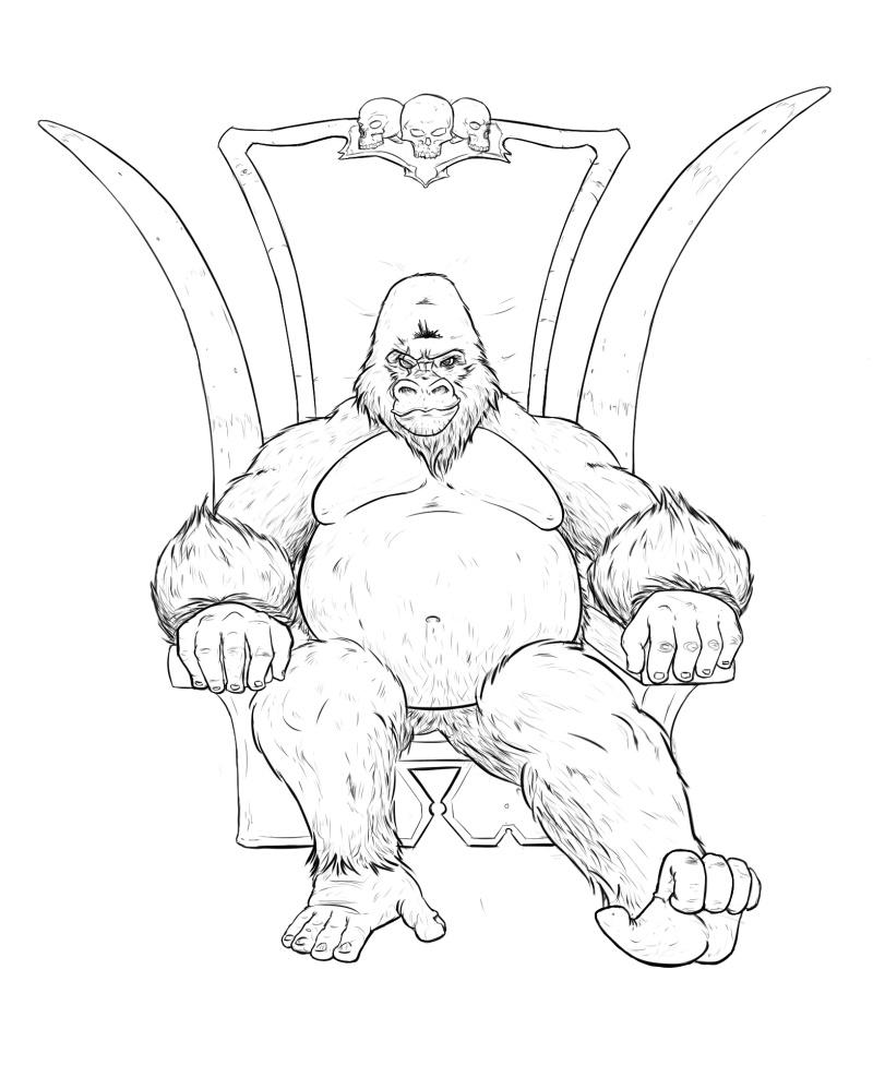 Phaeris Croquis et Trainings - Page 5 Gorill11