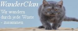WanderClan; Wir wandern durch jede Wüste - zusammen Banner11