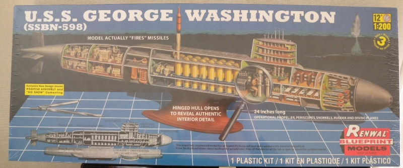 USS George Washington SSBN-598 Revell10