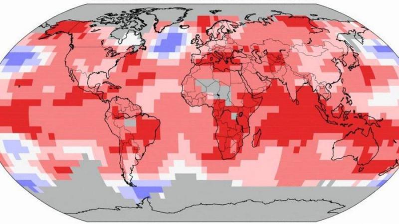 Les nouveaux records de température s'enchaînent à un rythme effréné Hausse10