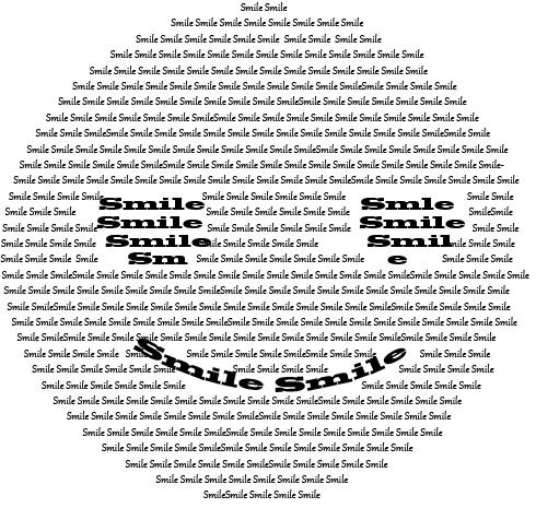 Assignment 11 : Hours 2, 5, 6 : Text Images (Due Fri, 4/29) Smile10