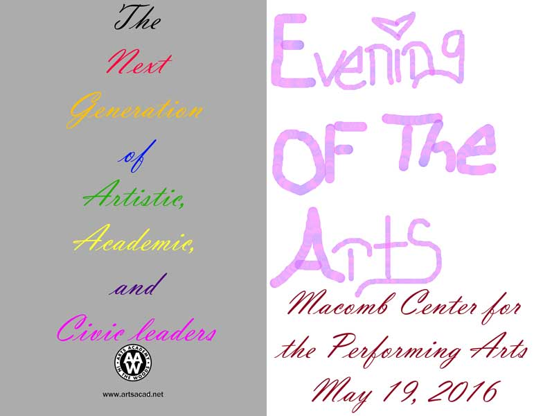 Assignment 8: (2nd, 5th and 6th hours): Evening of the Arts program cover due 3/23 - Page 3 Eve-ar11