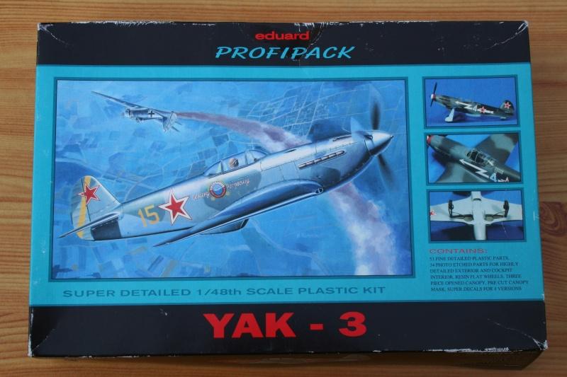 Le Yak 3 au 1/48 e de chez eduard Img_5710