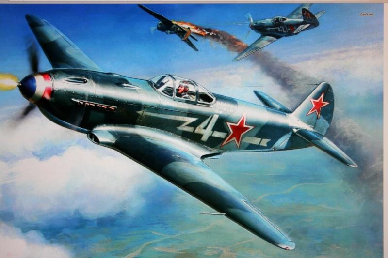 Le Yak 3 au 1/48 e de chez eduard Img_5810