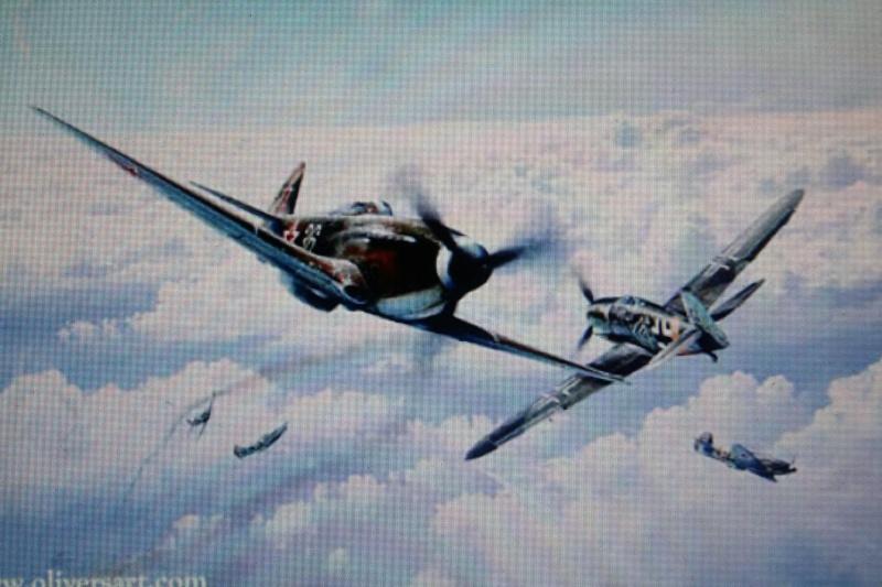 Le Yak 3 au 1/48 e de chez eduard Img_5811
