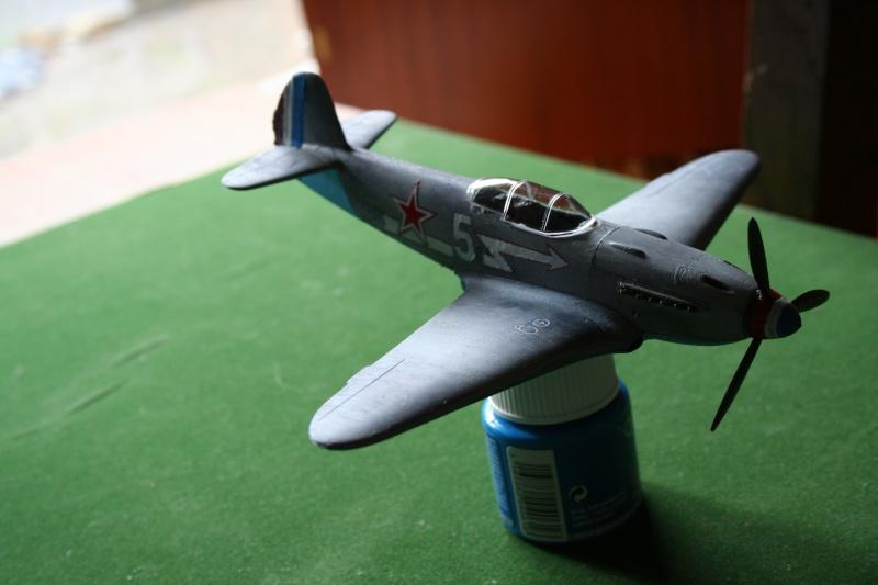 Le Yak 3 au 1/48 e de chez eduard Img_7416