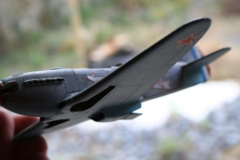 Le Yak 3 au 1/48 e de chez eduard Img_7419