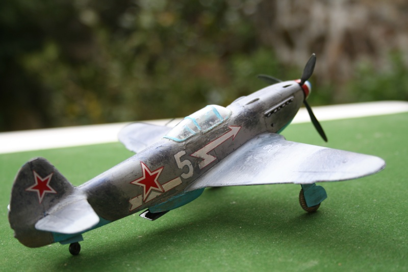 Le Yak 3 au 1/48 e de chez eduard Img_7429
