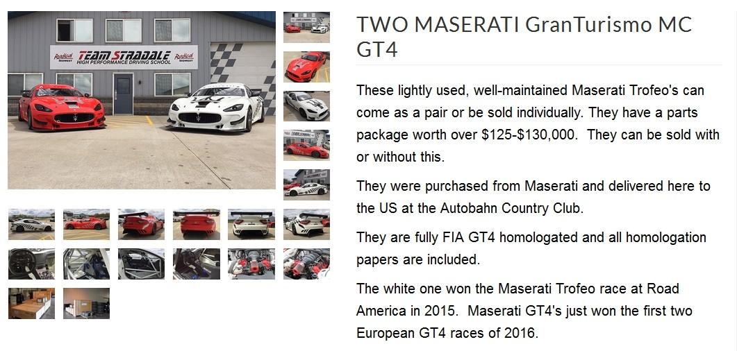 2 Maserati GranTurismo Trofeo à vendre Grantu10
