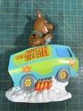 Mystery Machine Hot Rod Large bank Figurine all Vinyl $27 shipped Img_3111
