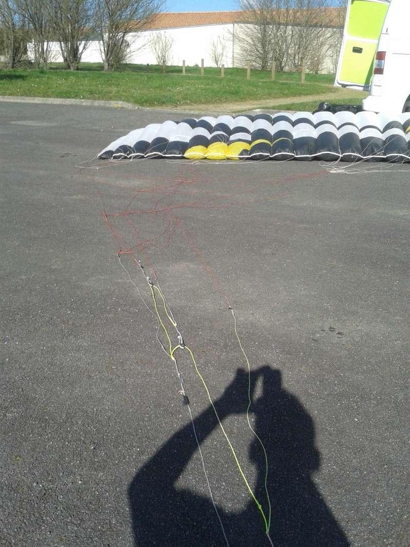 [VENDUE] Flysurfer speed4 lotus 15m² 1050 euros 20160211