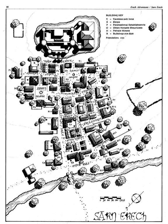 Cités du Royaume de Gondor Erech10