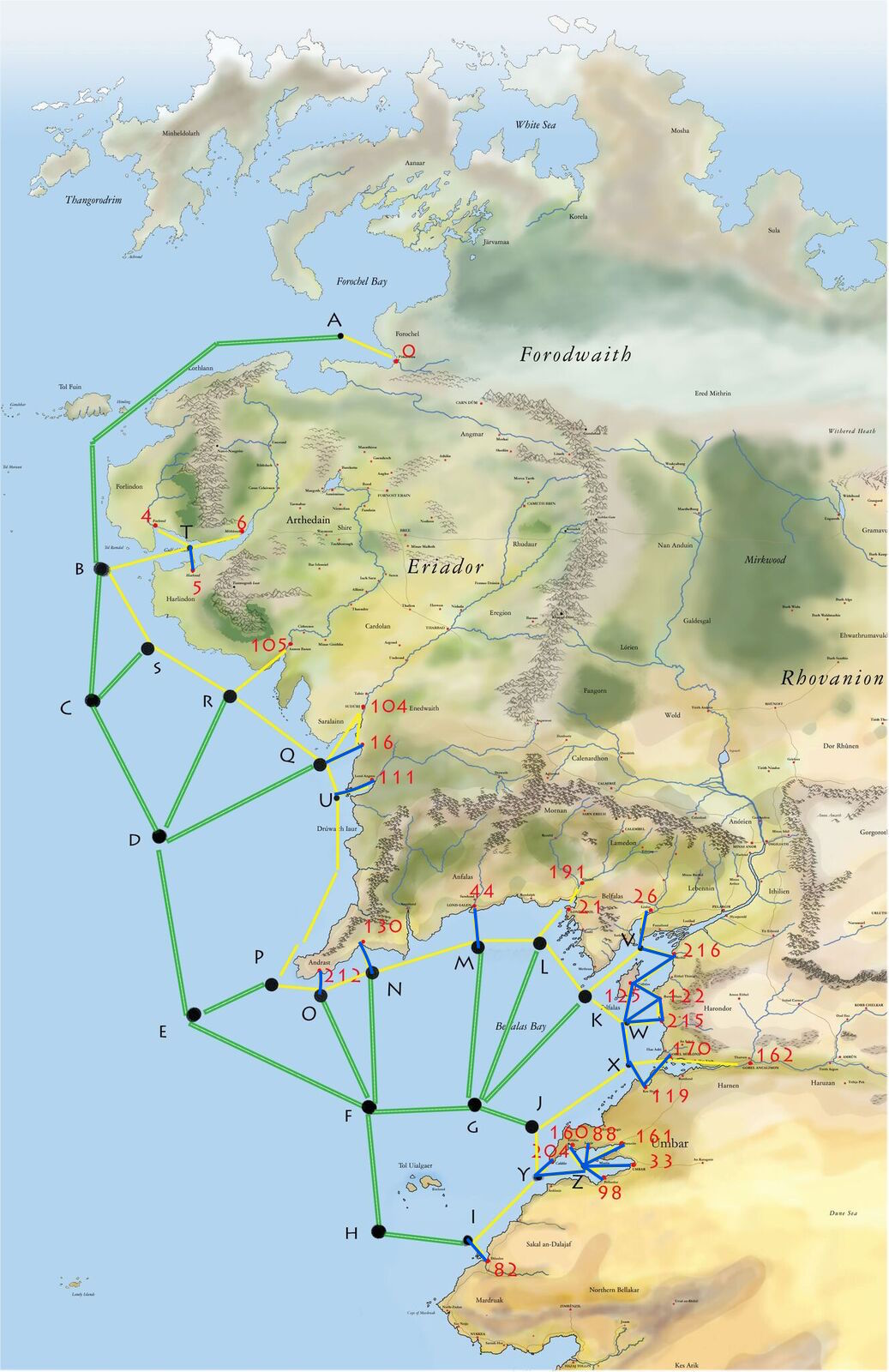 Carte des Voyages Maritimes et Fluviaux Unspec12