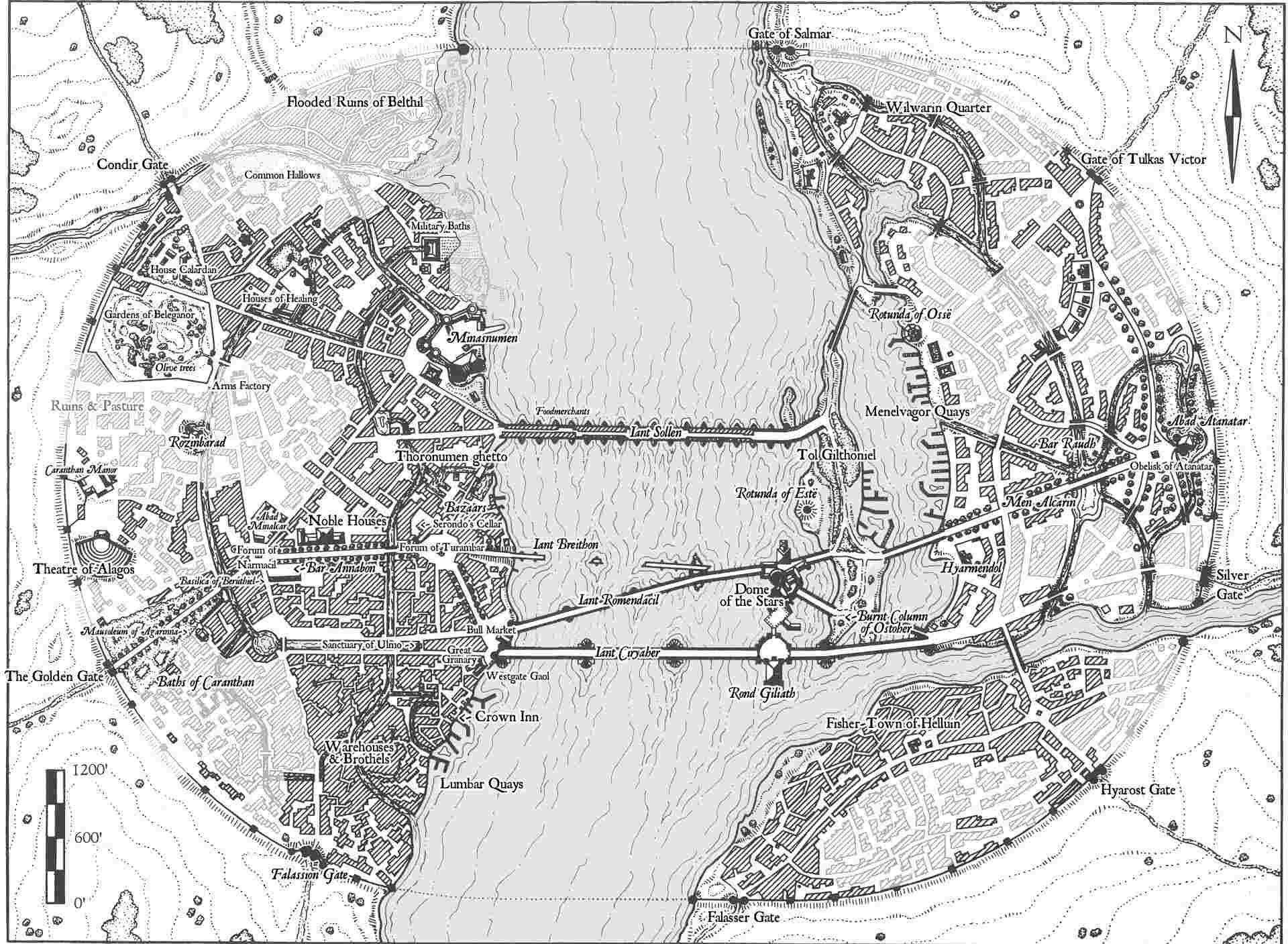 Cités du Royaume de Gondor Unspec37