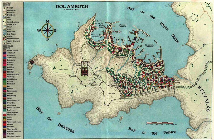 Cités du Royaume de Gondor Unspec48