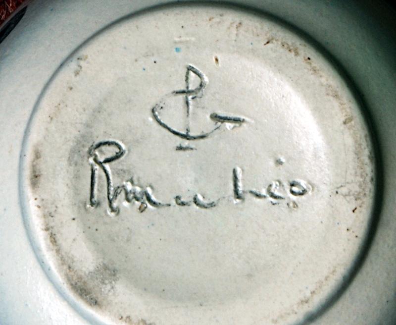 Pottery Planter: Possibly  Mediterranean - Italian - American? Dsc01912