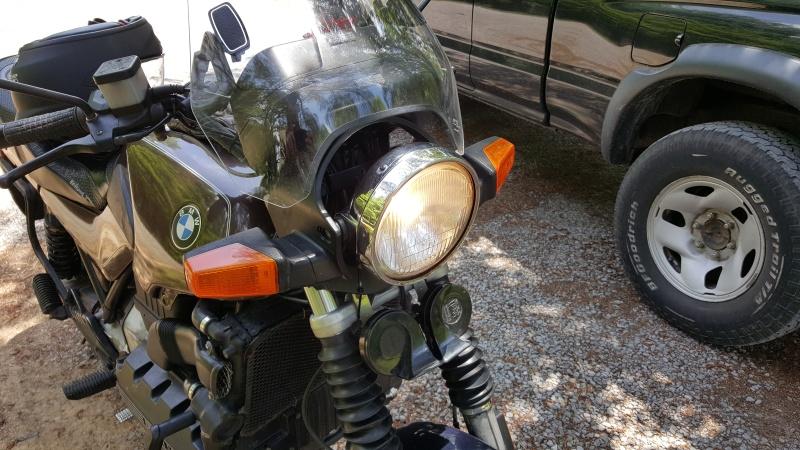 WTB 1988 k100 Standard Headlight Fairing / Radiator Cover 20160514