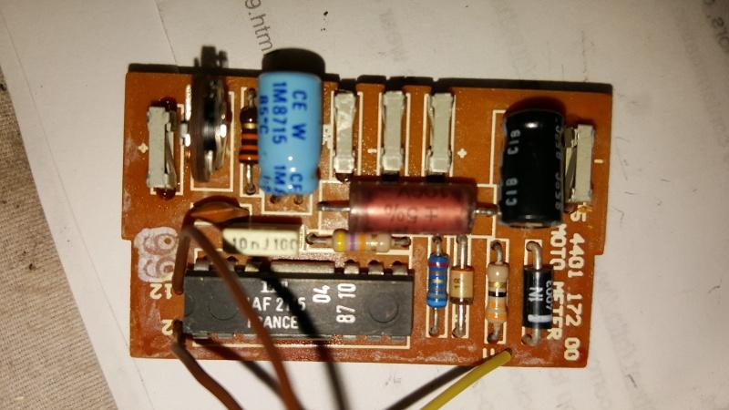 Speedometer / Odometer Repair  20160515