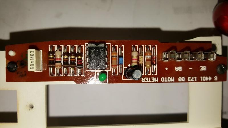 Speedometer / Odometer Repair  20160516