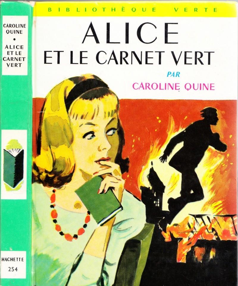Recherches sur les anciennes éditions d'Alice (Titres 16 à 30)  Lettre18