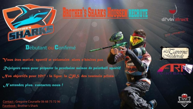 Team Brother's Shark recrute (France / 68) Brothe10