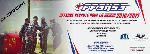 Offense recrute (France / IDF) Offens10