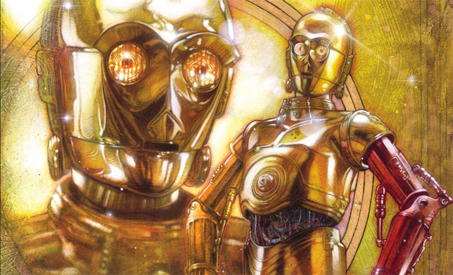 Why C-3PO's arm was red in TFA revealed! C-3po-10