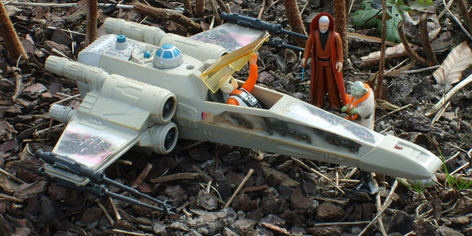 How well do you know Vintage Star Wars? QUIZ! X-wing10