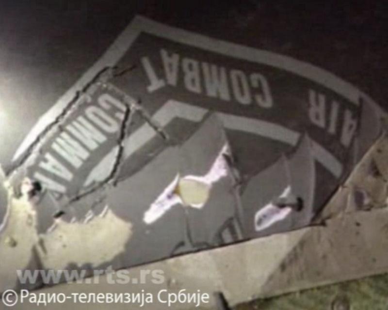 1999 F-117A shootdown in Yugoslavia F117a113