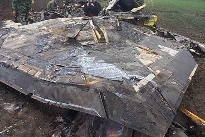 1999 F-117A shootdown in Yugoslavia F117a114