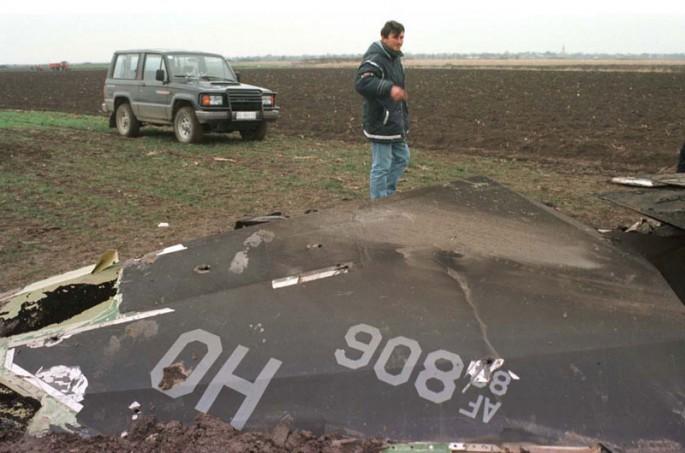 1999 F-117A shootdown in Yugoslavia F117a115