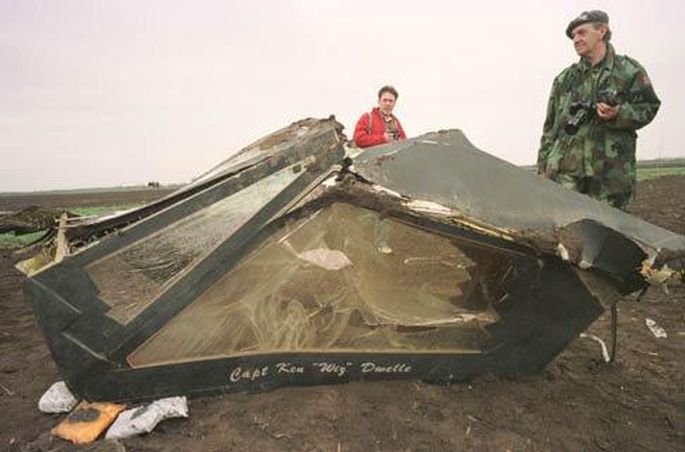1999 F-117A shootdown in Yugoslavia F117a118