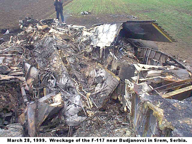 1999 F-117A shootdown in Yugoslavia F117a220