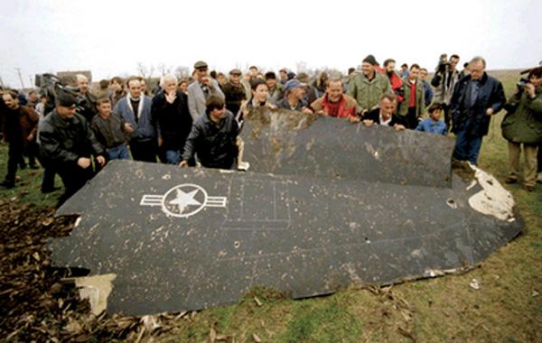 1999 F-117A shootdown in Yugoslavia F117a310