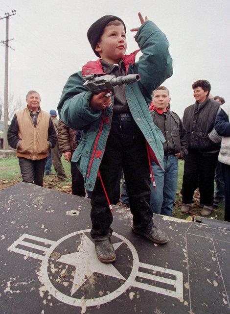 1999 F-117A shootdown in Yugoslavia F117a314