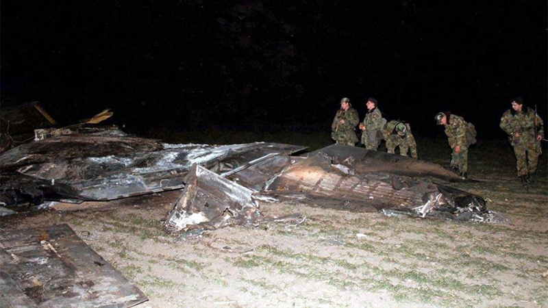 1999 F-117A shootdown in Yugoslavia F117a510