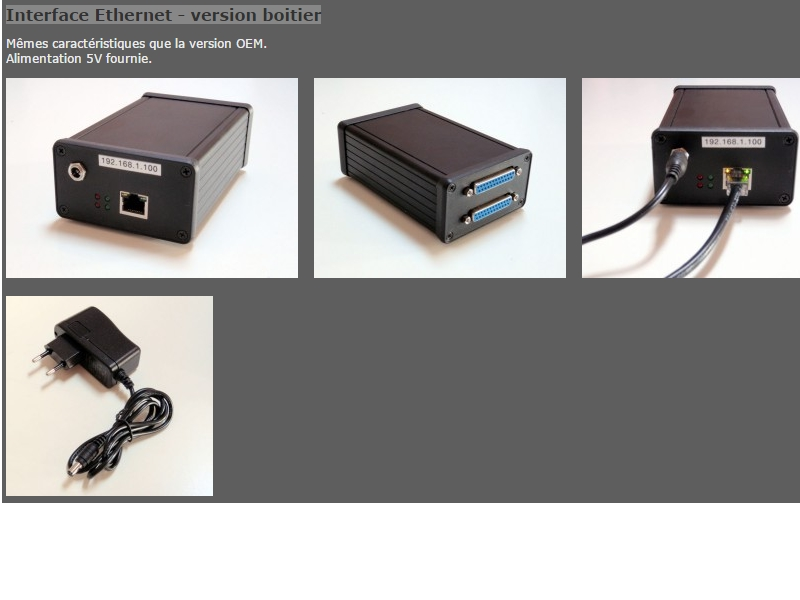Achat et réglage Smoothstepper Ethernet  Sans_t11