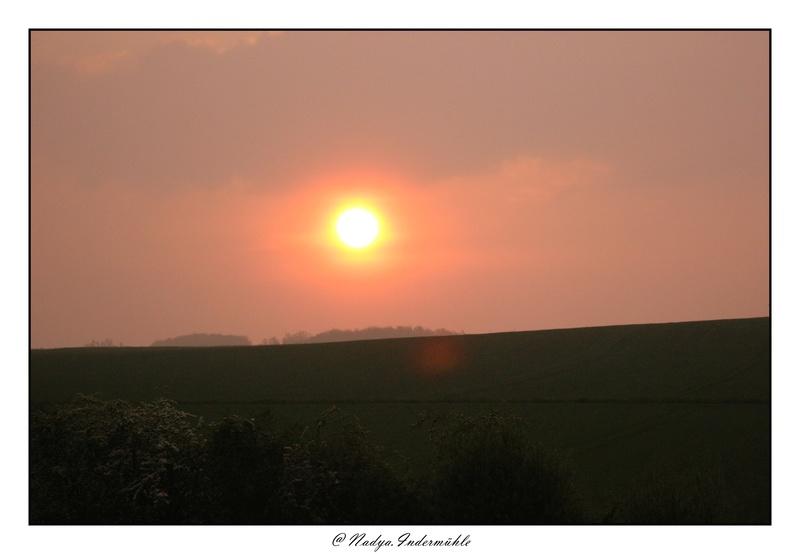 Lever ou coucher de soleil. Cadri242